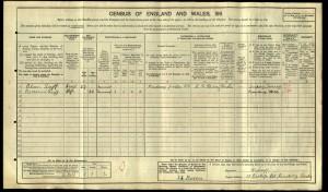 Allan Luff 1911 Census © Ancestry.co.uk