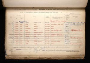 Allan Luff 1914 Star Medal Roll © Ancestry.co.uk