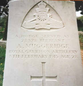 Arthur Muggeridge Gravestone © Michael Hodge