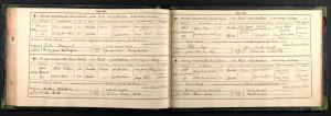 Arthur Stemp marriage certificate © findmypast.co.uk