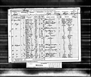Arthur Weller 1891 Census © Ancestry.co.uk