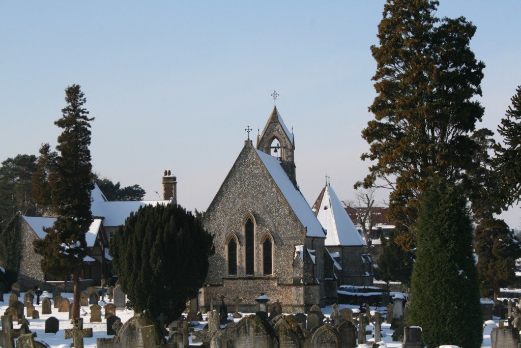 Cemetery Snow Feb 09 025
