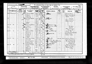 Charles Coles 1901 Census © Ancestry.co.uk