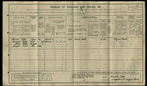 Charles Little 1911 Census © Ancestry.co.uk