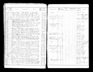 Charles Sparkes School Admission Register 1889 © ancestry.co.uk