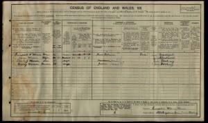 Charles Warren 1911 Census © findmypast.co.uk
