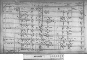 Owen Clark 1891 Census © Ancestry.co.uk