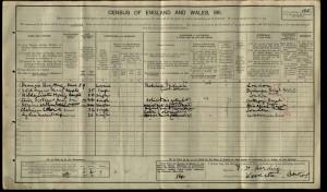 Clive Scotland Harding 1911 Census © findmypast.co.uk