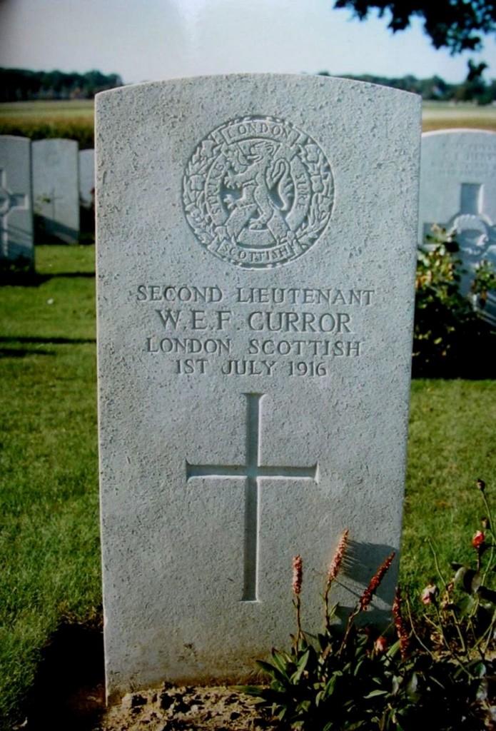 William Curror Grave