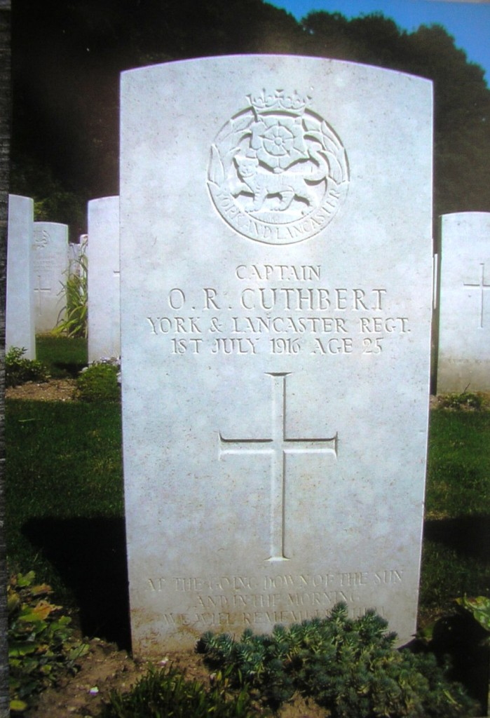 Captain Olav Cuthbert