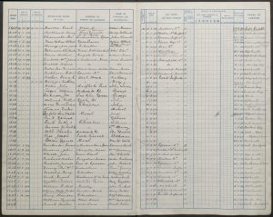 Cuthbert Reynolds School Admission Register 1900 © Surrey History Centre findmypast.co.uk