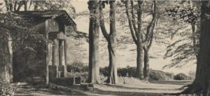Deepdene Terrace and Temple, 1930 © Dorking Museum