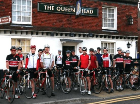 Dorking Cycling Club in 2014