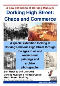 Dorking High Street Exhibition