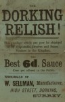 Dorking Relish Advert
