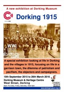 Dorking in 1915 Exhibition