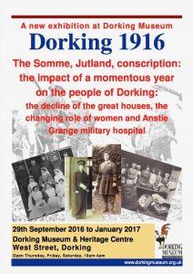 Dorking in 1916