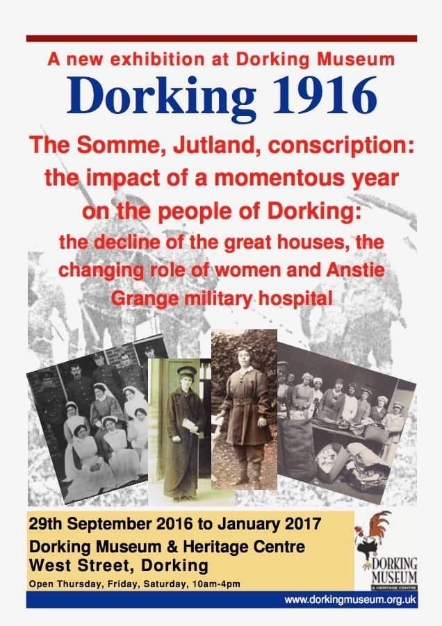 dorking-in-1916