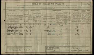 Douglas Denham 1911 Census © findmypast.co.uk