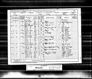 Edward Day 1891 Census © findmypast.co.uk