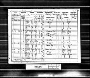 Edward Mortimer 1891 Census © findmypast.co.uk