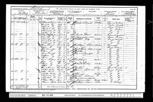 Edward Mortimer 1901 Census © findmypast.co.uk