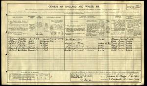 Edward Mortimer 1911 Census © findmypast.co.uk