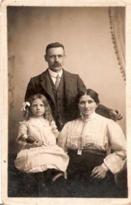 Emma, James and Emily Friday - © Ancestry.co.uk