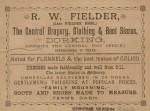 RW Fielder Advert
