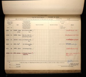 Sidney Fillery Medal Roll © ancestry.co.uk