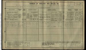 Frederick Mansell 1911 Census © findmypast.co.uk