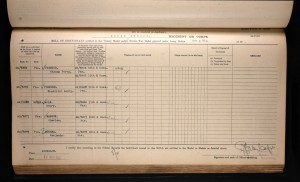 Frederick Plummer British War Medal and Victory Medal Roll © ancestry.co.uk