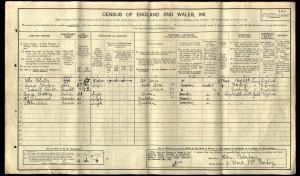 George Botting 1911 Census © Ancestry.co.uk