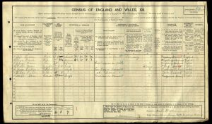 George Fuller 1911 Census © Ancestry.co.uk