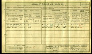 George Hodsoll 1911 Census © Ancestry.co.uk