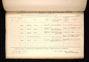 George Hodsoll 1914 Star Medal Roll © Ancestry.co.uk