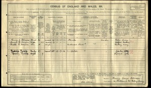 Harold Robinson 1911 Census © Ancestry.co.uk