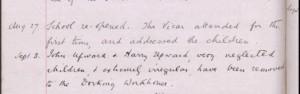 Harry Upward School Records 1900 © findmypast.co.uk