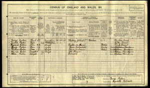 Henry Charles Parker 1911 Census © Ancestry.co.uk