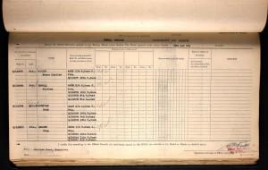 Henry Charles Parker British War Medal and Victory Medal Roll © Ancestry.co.uk