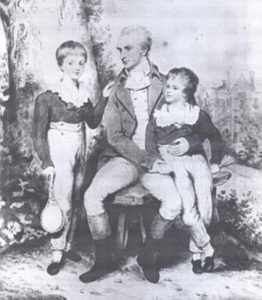 Henry Peters and sons c. 1800 © Surrey History Centre