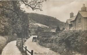 Holmes Cottages on right hand side © Brockham LHG
