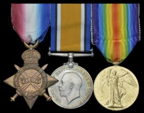Hugo Molesworth Legge Medals. Image courtesy of Dix Noonan Webb Ltd