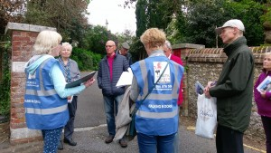 Dorking Museum Walks Team in Action