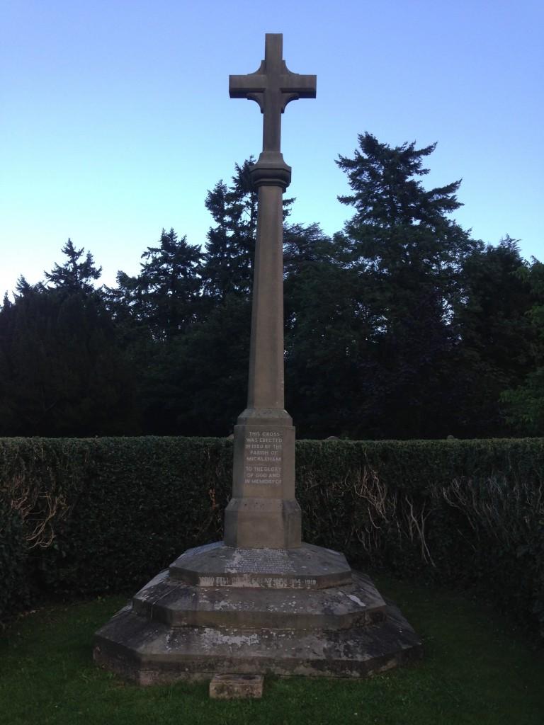 Mickleham War Memorial © Erica Chambers 2015
