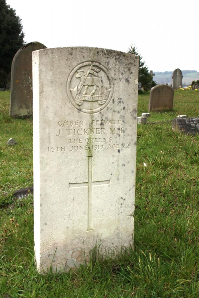 Private Joseph MM Tickner