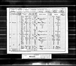 John Joseph Graffham 1891 Census © Ancestry.co.uk