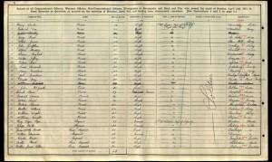 John Joseph Graffham 1911 Army Census © Ancestry.co.uk