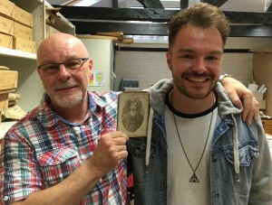 John and Sean Durrant at Dorking Museum