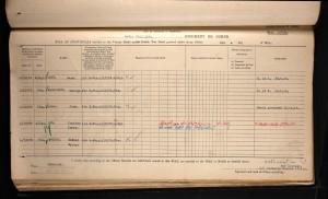 Mark Goff WW1 Medal Roll © ancestry.co.uk